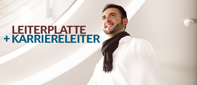 LEITERPLATTE+KARRIERELEITER